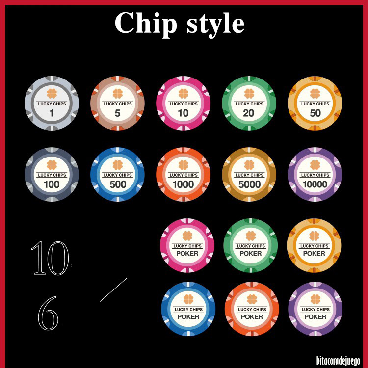 Review Lucky Crown Poker Chip